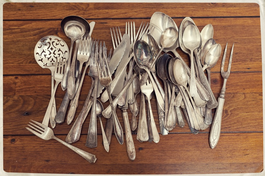 Silver Plated Flatware : antique silver plated flatware - pezcame.com